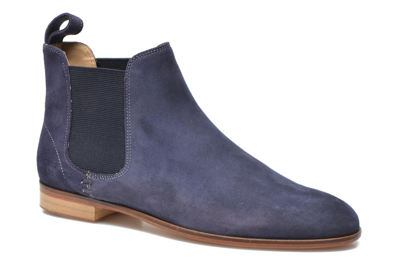Boots en enkellaarsjes Melvin & Hamilton Susan 10 Blauw detail