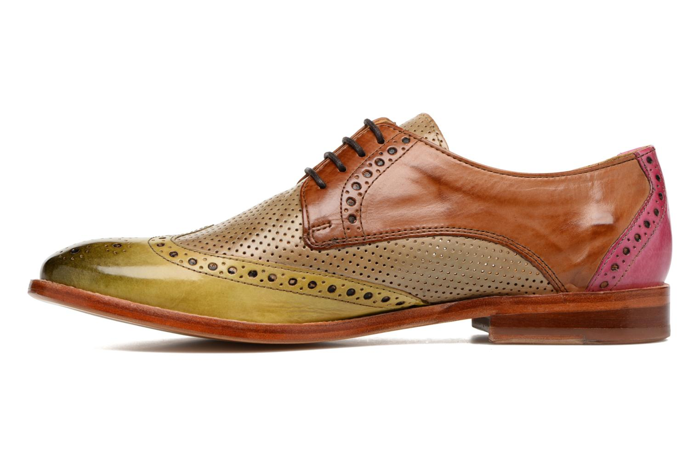Zapatos con cordones Melvin & Hamilton Amelie 3 Multicolor vista de frente