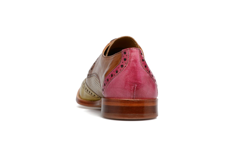 Zapatos con cordones Melvin & Hamilton Amelie 3 Multicolor vista lateral derecha