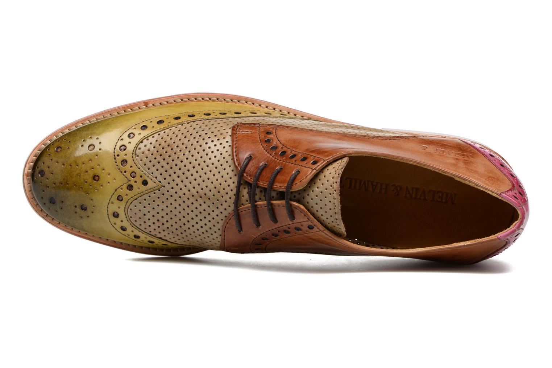 Zapatos con cordones Melvin & Hamilton Amelie 3 Multicolor vista lateral izquierda