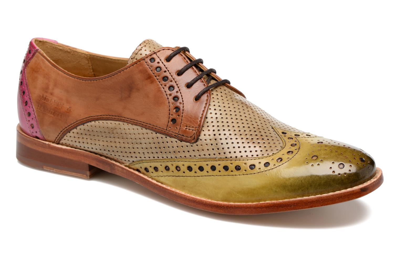 Zapatos con cordones Melvin & Hamilton Amelie 3 Multicolor vista de detalle / par