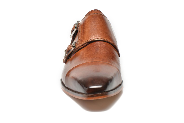 Mocassins Melvin & Hamilton Lance 1 Marron vue portées chaussures