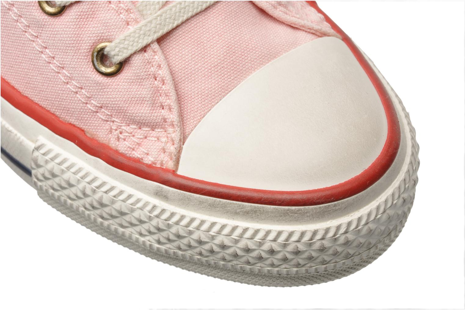 Trainers Converse Chuck Taylor All Star Well Worn Ox W Pink 3/4 view