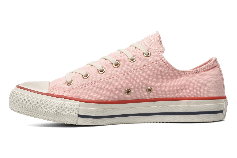 Sneaker Converse Chuck Taylor All Star Well Worn Ox W rosa ansicht von vorne