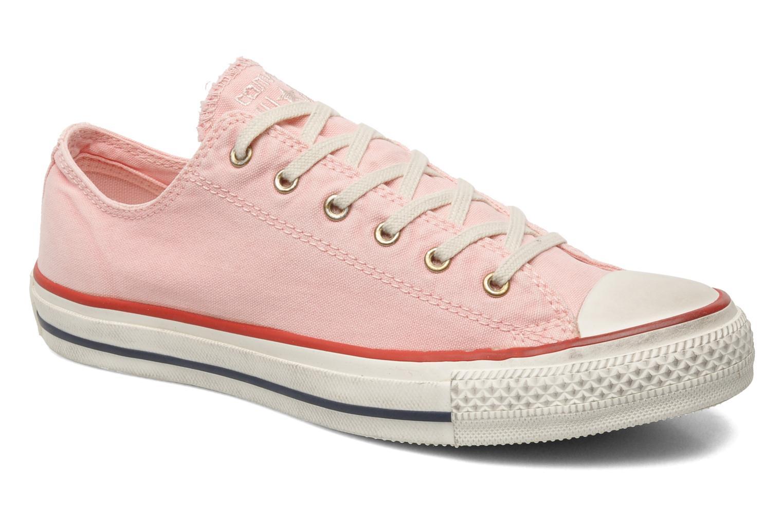 Sneaker Converse Chuck Taylor All Star Well Worn Ox W rosa detaillierte ansicht/modell
