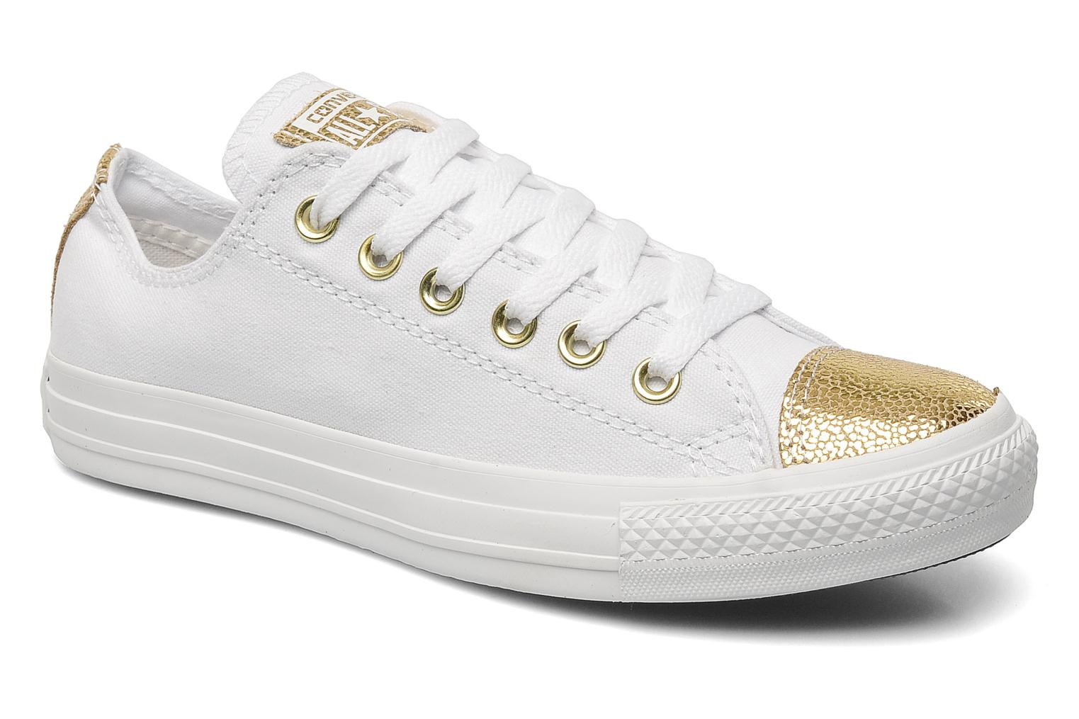 converse chuck taylor all star ox blanche et or