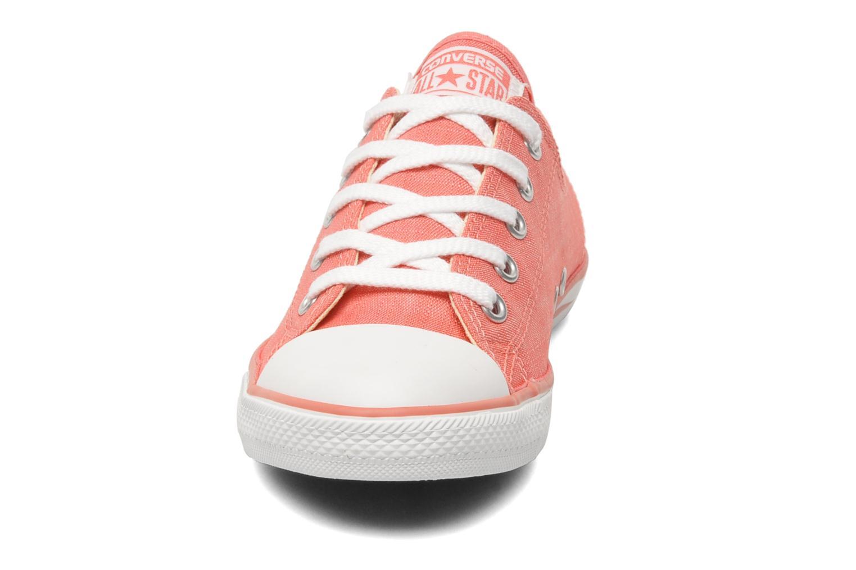 Sneaker Converse All Star Dainty Denim Ox W rosa schuhe getragen