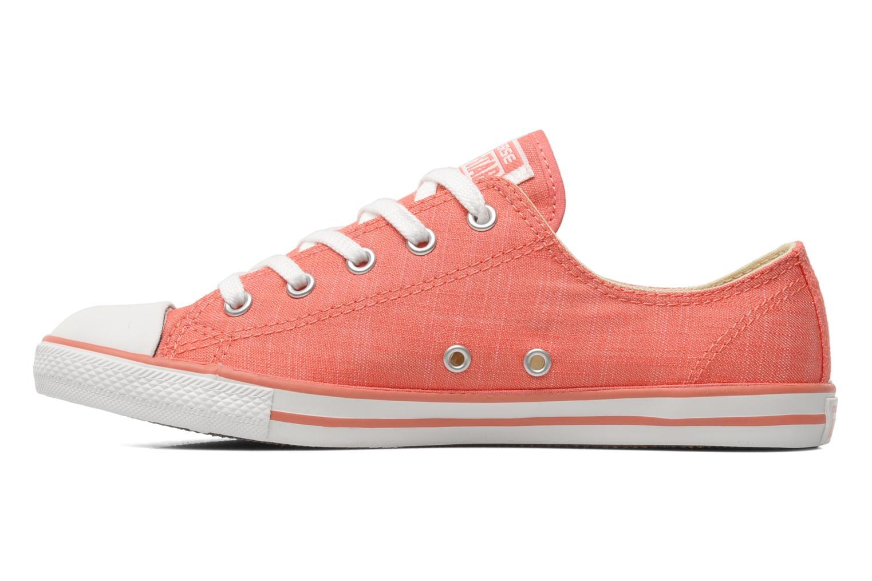 Sneaker Converse All Star Dainty Denim Ox W rosa ansicht von vorne