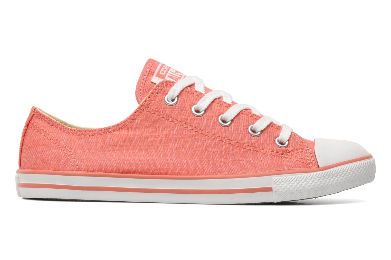Sneaker Converse All Star Dainty Denim Ox W rosa ansicht von hinten