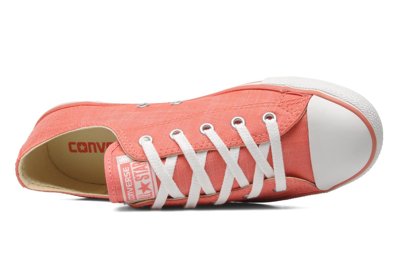 Sneaker Converse All Star Dainty Denim Ox W rosa ansicht von links