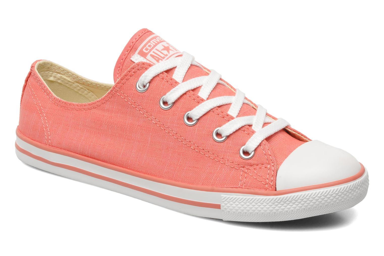 Sneaker Converse All Star Dainty Denim Ox W rosa detaillierte ansicht/modell