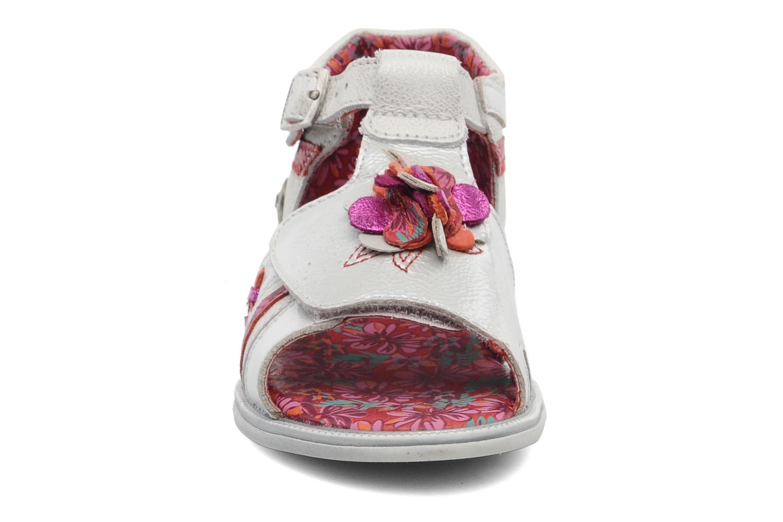 Sandales et nu-pieds Catimini CLEMATITE Argent vue portées chaussures