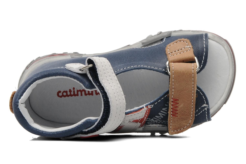 Sandalen Catimini CALYPSO Blauw links