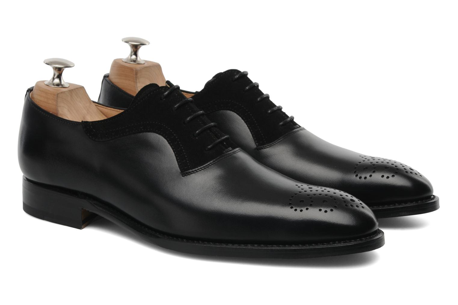 Lace-up shoes Marvin&Co Luxe Walburg Black 3/4 view