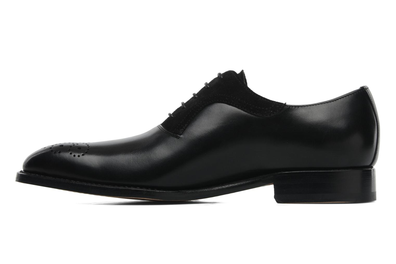 Schnürschuhe Marvin&Co Luxe Walburg schwarz ansicht von vorne