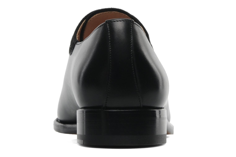 Schnürschuhe Marvin&Co Luxe Walburg schwarz ansicht von rechts