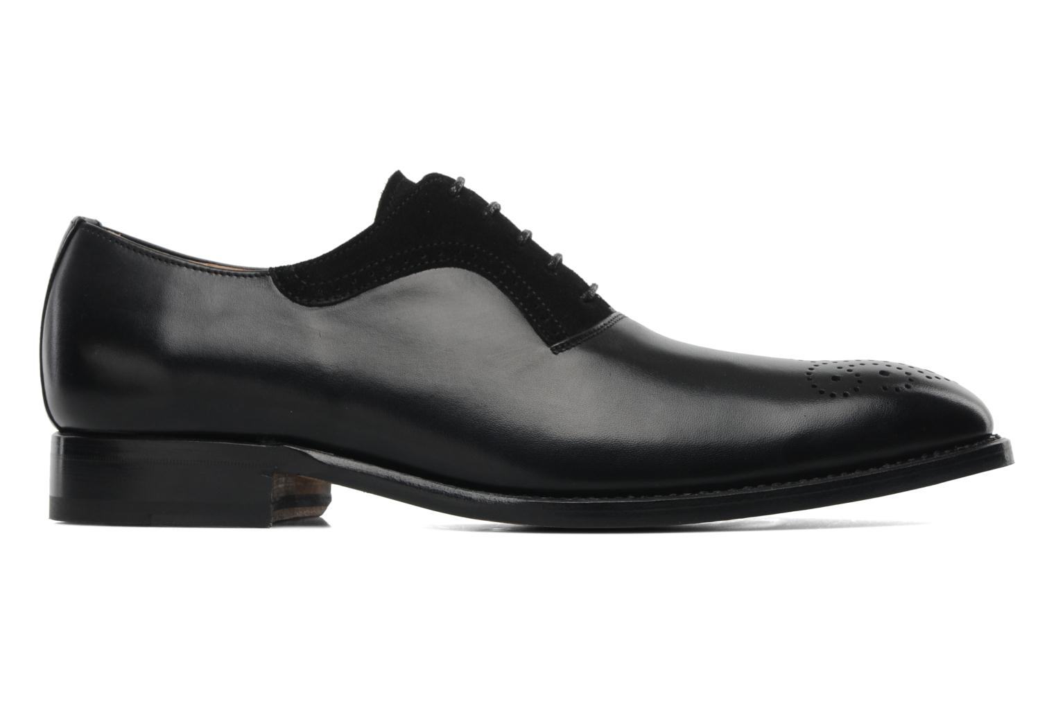 Lace-up shoes Marvin&Co Luxe Walburg Black back view