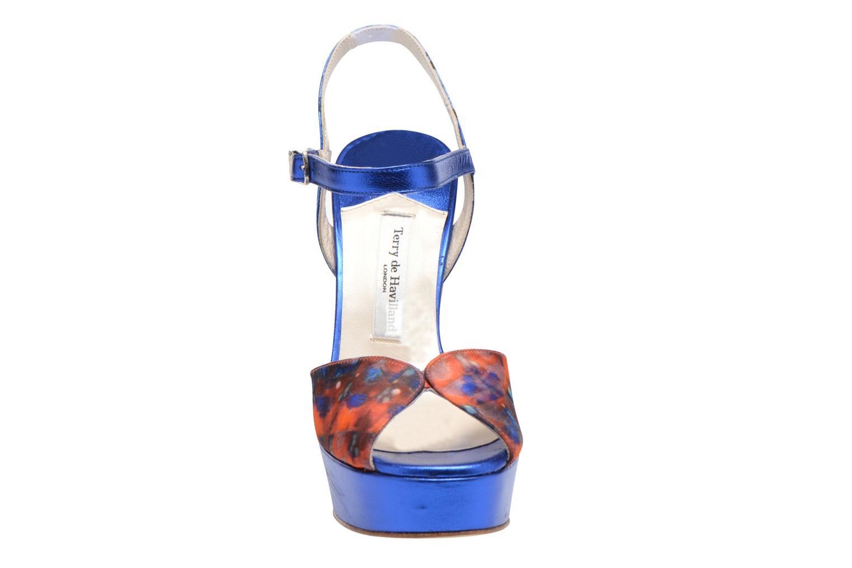 Sandals Terry de Havilland Coco Blue model view