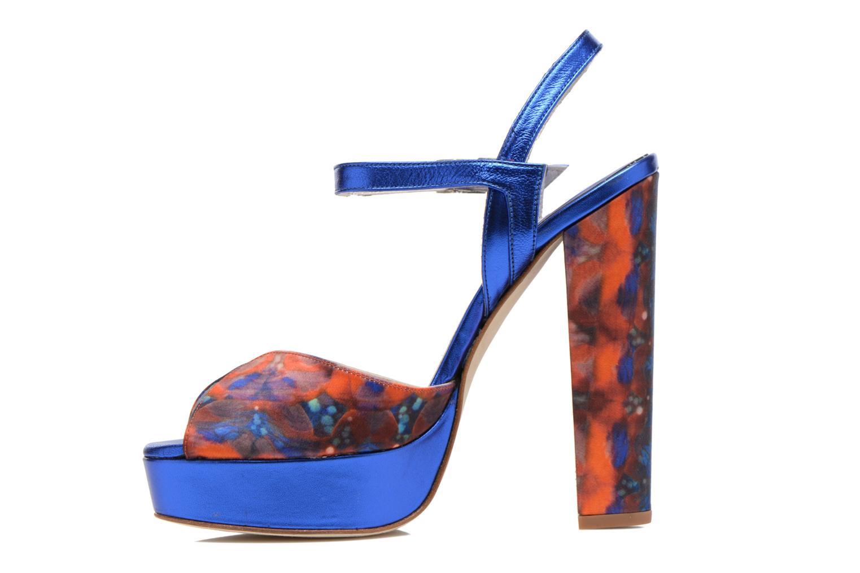 Sandals Terry de Havilland Coco Blue front view