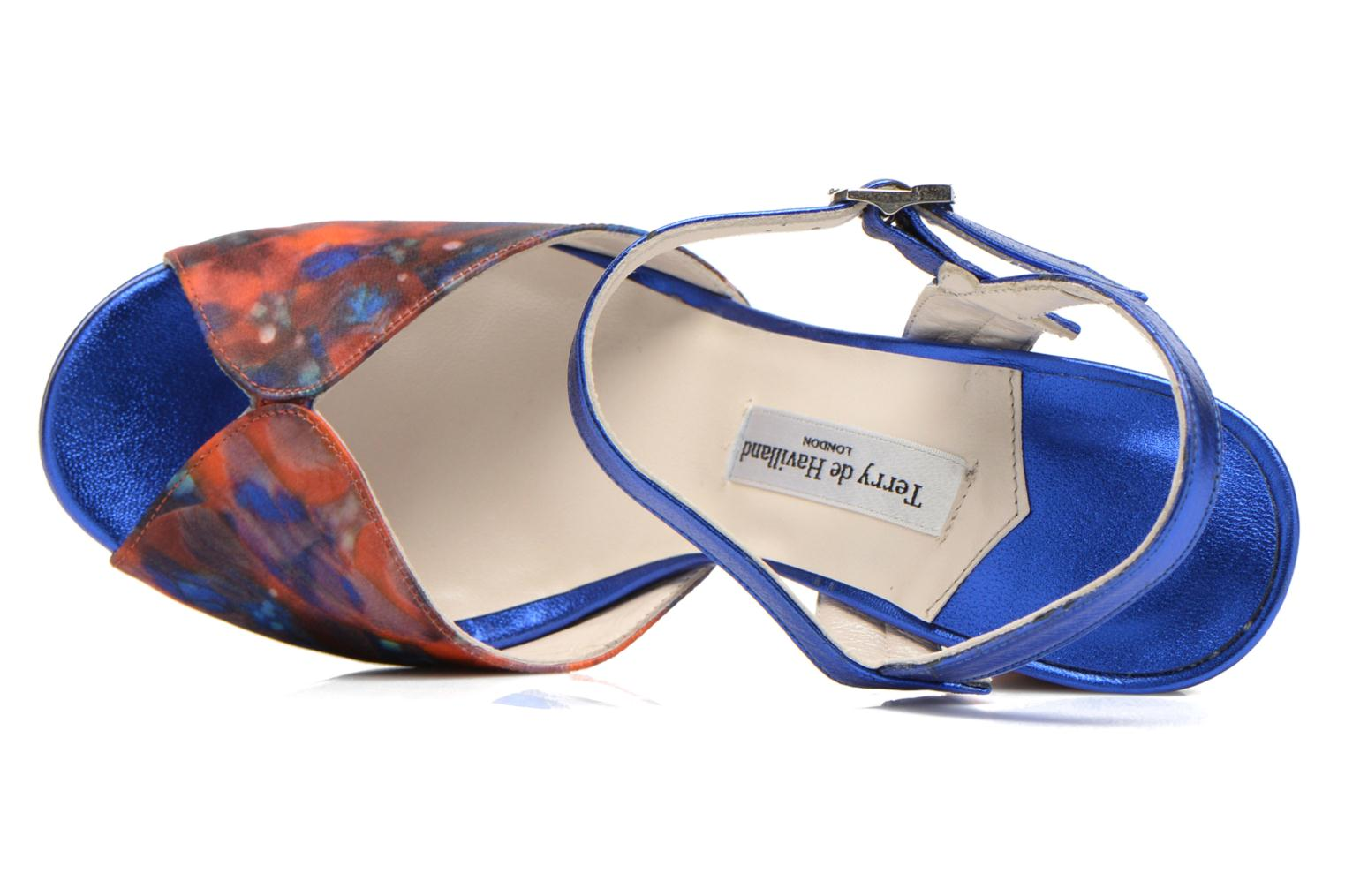 Sandals Terry de Havilland Coco Blue view from the left