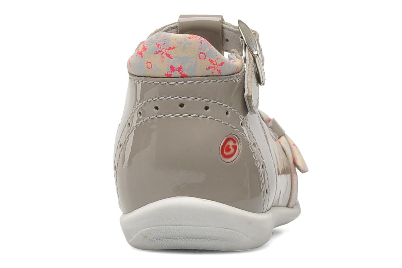 Bottines et boots GBB GABRIELA Gris vue droite