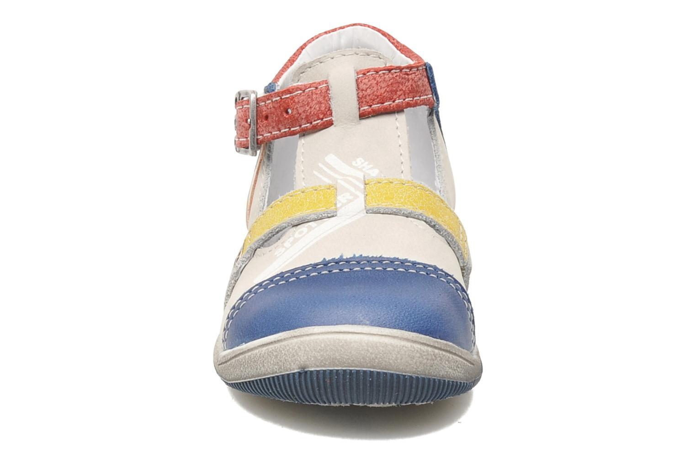 Sandales et nu-pieds GBB GEO Gris vue portées chaussures