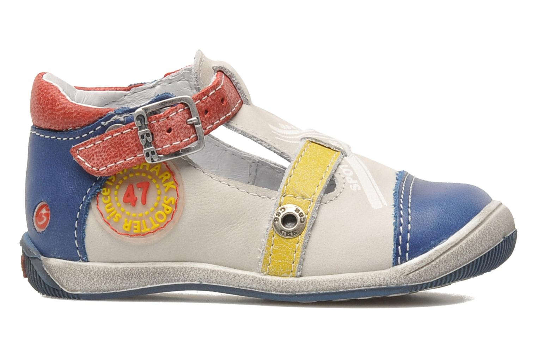 Sandales et nu-pieds GBB GEO Gris vue derrière