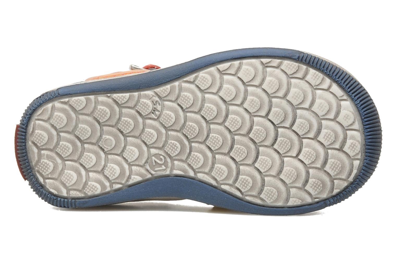 Sandalen GBB GEO grau ansicht von oben