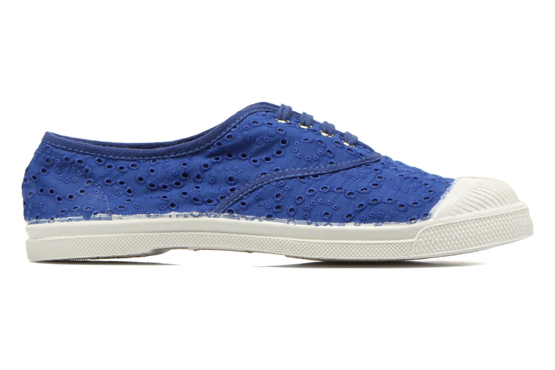 Baskets Bensimon Tennis Broderie Anglaise Bleu vue derrière