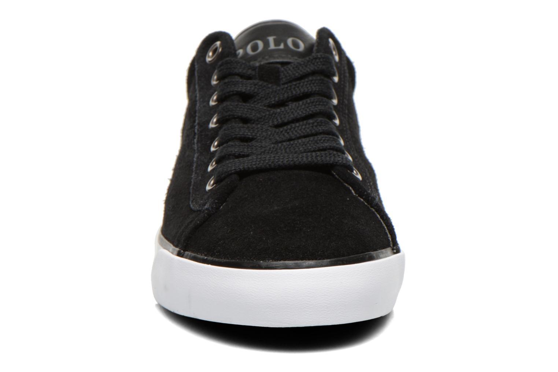 Sneaker Polo Ralph Lauren Harvey schwarz schuhe getragen