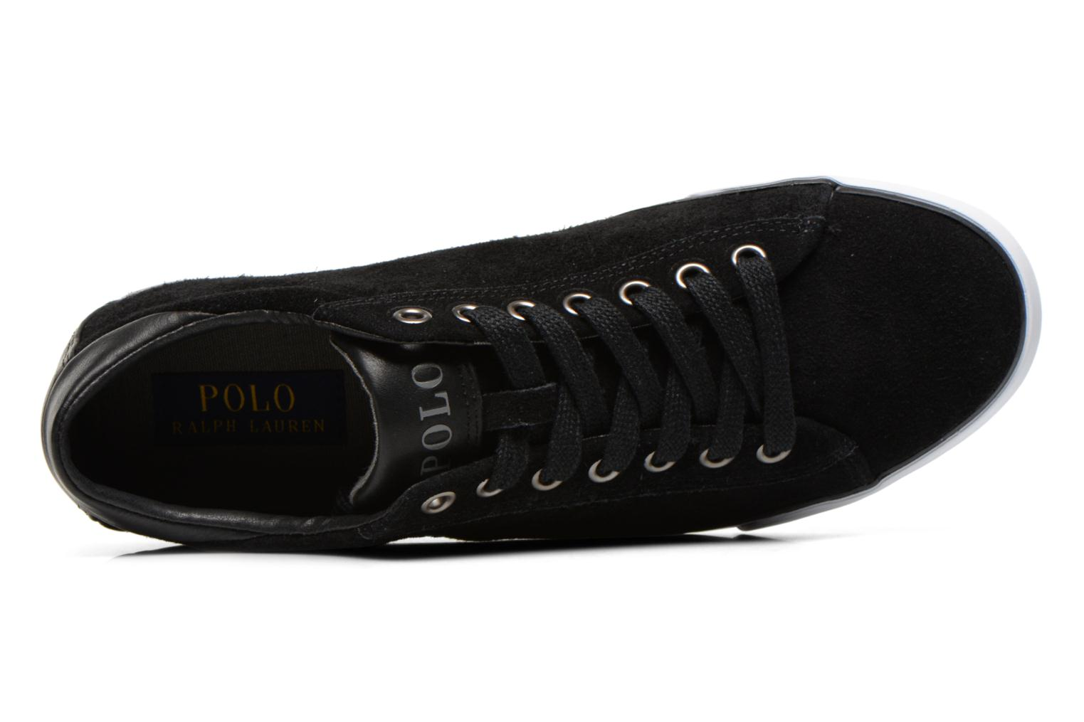 Baskets Polo Ralph Lauren Harvey Noir vue gauche