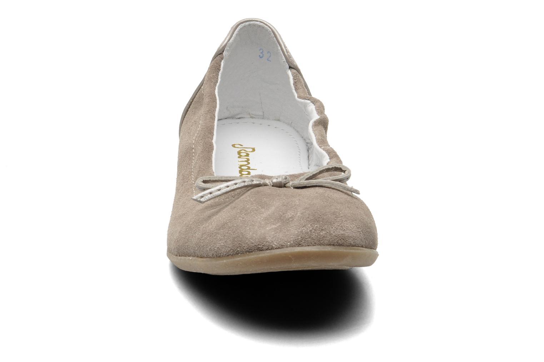 Bailarinas Ramdam by GBB LISBONNE Gris vista del modelo