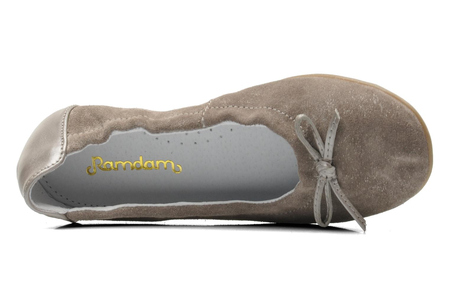 Ballet pumps Ramdam by GBB LISBONNE Grey view from the left