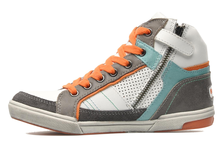 Sneakers Ramdam by GBB SAGONES Wit voorkant