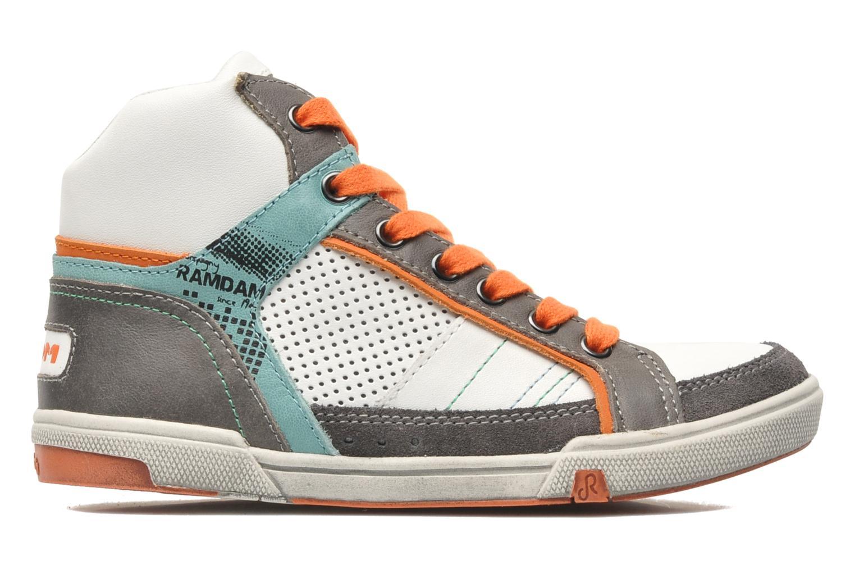 Sneakers Ramdam by GBB SAGONES Wit achterkant