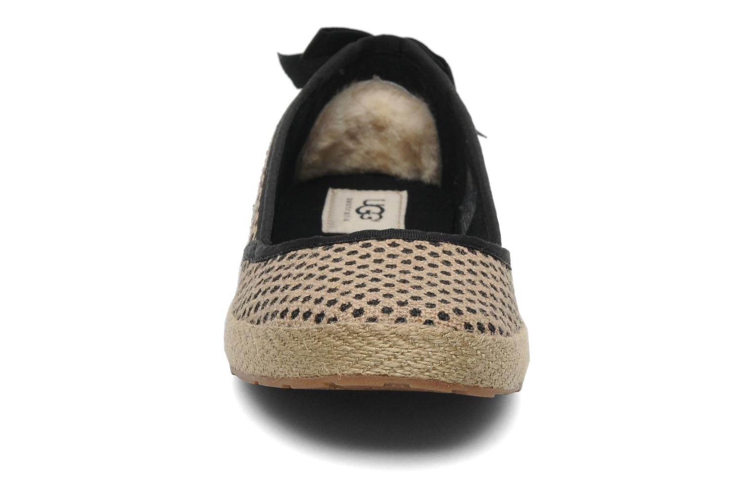 Ballet pumps UGG Indah Burlap Beige model view