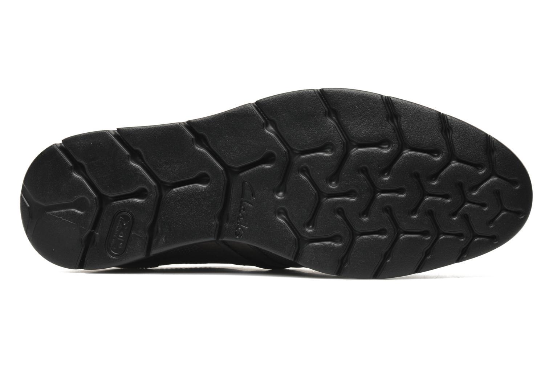Chaussures à lacets Clarks Denner Race Marron vue haut