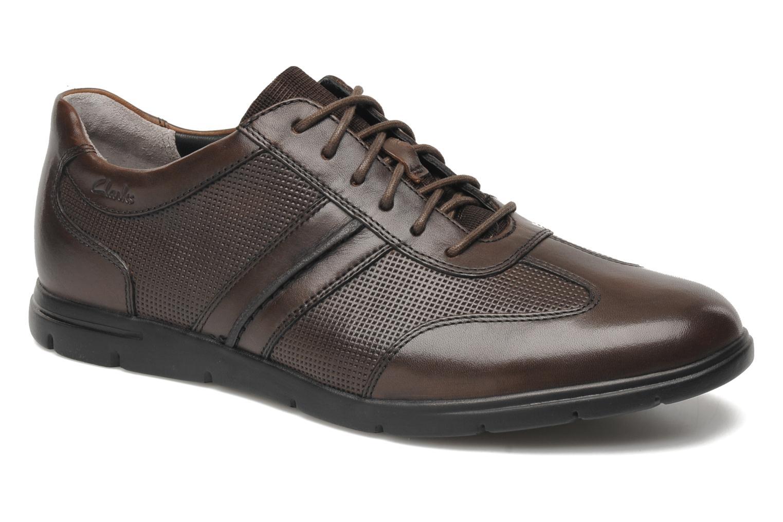 Chaussures à lacets Clarks Denner Race Marron vue détail/paire