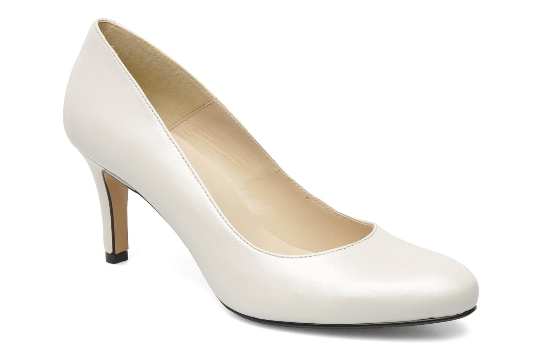 Høje hæle Georgia Rose Savalisette Hvid detaljeret billede af skoene