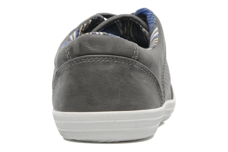 Sneaker I Love Shoes Sunages grau ansicht von rechts