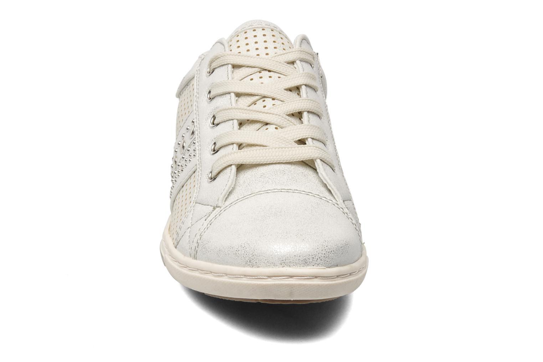 Baskets I Love Shoes Suaimes Argent vue portées chaussures