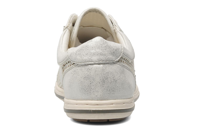 Baskets I Love Shoes Suaimes Argent vue droite