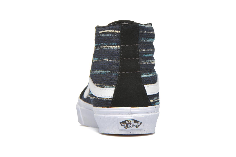 Sneakers Vans Sk8-Hi Slim W Zwart rechts