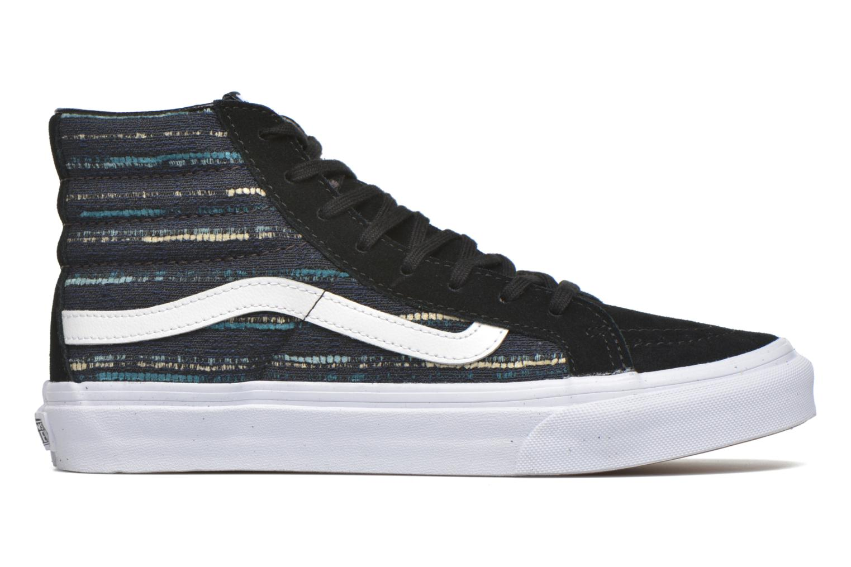 Sneaker Vans Sk8-Hi Slim W schwarz ansicht von hinten