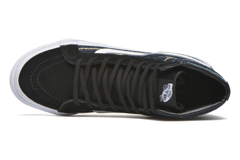 Sneaker Vans Sk8-Hi Slim W schwarz ansicht von links