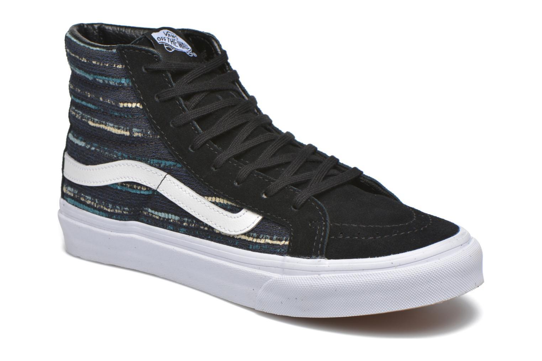 Sneakers Vans Sk8-Hi Slim W Zwart detail