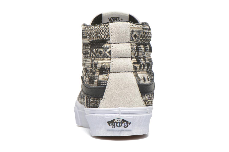 Baskets Vans Sk8-Hi Slim W Beige vue droite