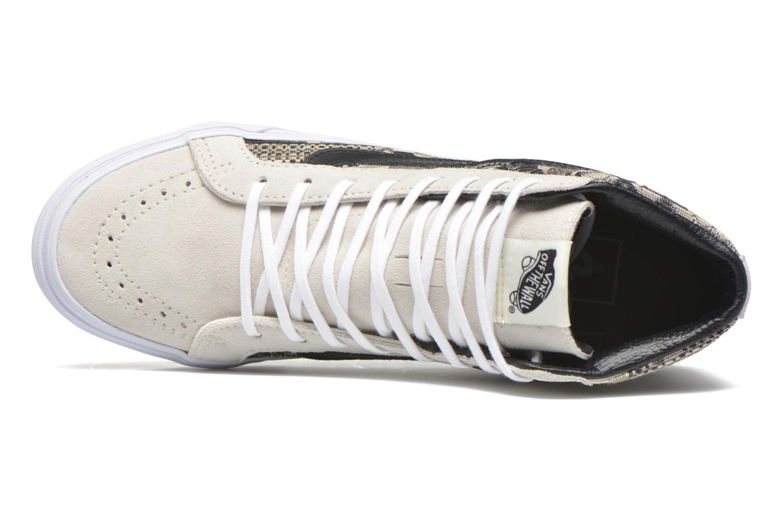 Sk8-Hi Slim W (Italian Weave) White/Black