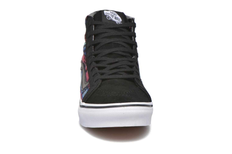 Baskets Vans Sk8-Hi Slim W Multicolore vue portées chaussures