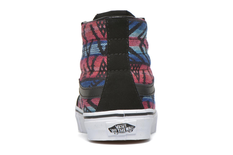 Baskets Vans Sk8-Hi Slim W Multicolore vue droite